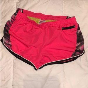 Hot pink Soffe shorts